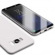 hvid Ultra tynd cover 0.6mm Samsung Galaxy S8 Mobiltilbehør