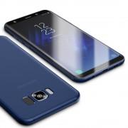 Ultra tynd cover 0.6mm mørkeblå Samsung Galaxy S8 Mobiltilbehør