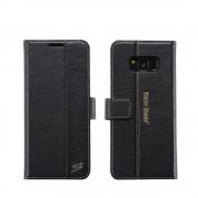 Unikt cover Samsung Galaxy S8 i ægte læder Mobil tilbehør