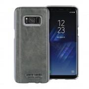 Pierre cardin cover grå til Samsung Galaxy S8+ ægte læder Mobil tilbehør