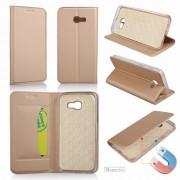 Slim flip cover guld Galaxy A3 2017 Mobil tilbehør
