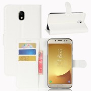 Vilo flip cover hvid Galaxy J7 2017 Mobilcovers