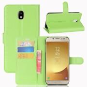 Vilo flip cover grøn Galaxy J7 2017 Mobilcovers