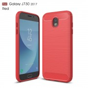 C-style armor cover rød Galaxy J7 2017 Mobilcovers