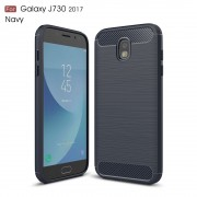 C-style armor cover blå Galaxy J7 2017 Mobilcovers