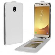 Galaxy J5 2017 vertikal flip cover hvid Mobilcovers