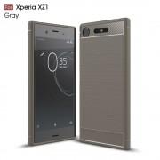 grå C-style armor case Sony XZ1 Mobil tilbehør