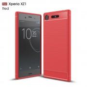rød C-style armor case Sony XZ1 Mobil tilbehør