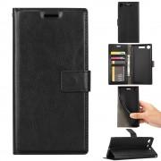 Vilo flip cover sort Sony XZ1 compact Mobil tilbehør