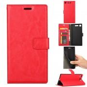 Vilo flip cover rød Sony XZ1 compact Mobil tilbehør