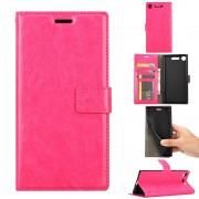 Vilo flip cover rosa Sony XZ1 compact Mobil tilbehør