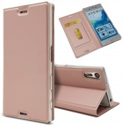 Slim cover rosaguld Sony xperia XZ Mobilcovers