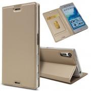 Slim cover guld Sony xperia XZ Mobilcovers