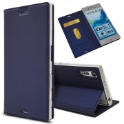 Slim cover blå Sony xperia XZ Mobilcovers