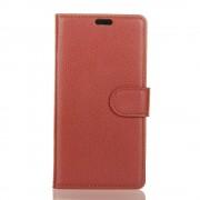 Vilo flip cover brun Sony xperia L2 Mobilcovers