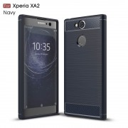 C-style armor cover blå Sony xperia XA2 Mobilcovers