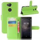 Vilo flip cover grøn Sony xperia XA2 Mobilcovers