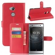 Vilo flip cover rød Sony xperia XA2 Ultra Mobilcovers