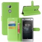 Vilo flip cover grøn Sony xperia XA2 Ultra Mobilcovers
