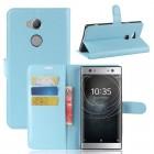 Vilo flip cover blå Sony xperia XA2 Ultra Mobilcovers