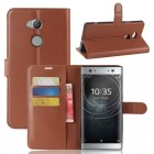 Vilo flip cover brun Sony xperia XA2 Ultra Mobilcovers