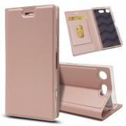 Slim cover rosaguld Sony XZ1 compact Mobil tilbehør