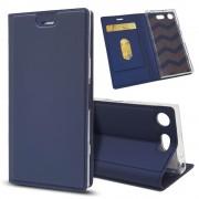 Slim cover blå Sony XZ1 compact Mobil tilbehør