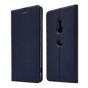 blå Slim etui Sony Xperia XZ3 Mobil tilbehør