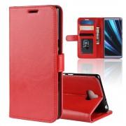 rød Vilo flip cover Sony Xperia 10 Mobil tilbehør