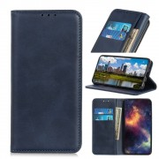blå Læder etui Sony Xperia 10 Mobil tilbehør