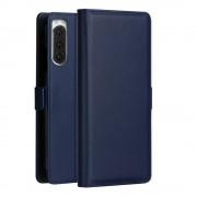 blå MILO slim etui Sony Xperia 5 Mobil tilbehør