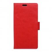 SONY XPERIA E5 cover med kort lommer rød Leveso Mobil tilbehør