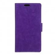 SONY XPERIA E5 cover med kort lommer lilla Leveso Mobil tilbehør