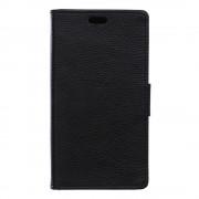 SONY XPERIA E5 cover full grain læder sort Leveso Mobil tilbehør