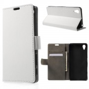 SONY XPERIA X PERFORMANCE cover - etui hvid Leveso Mobil tilbehør