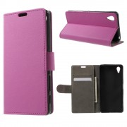 SONY XPERIA X PERFORMANCE cover - etui rosa Leveso Mobil tilbehør