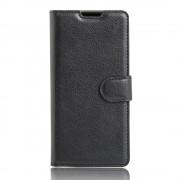 SONY XPERIA XA cover med lommer sort Leveso Mobil tilbehør