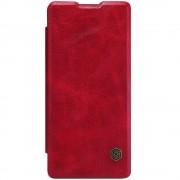 til SONY XPERIA XA cover etui i business stil rød Leveso Mobil tilbehør