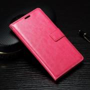 SONY XPERIA X læder cover med lommer rosa, Mobiltelefon tilbehør