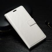 SONY XPERIA X PERFORMANCE læder cover med lommer hvid, Mobiltelefon tilbehør