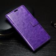 SONY XPERIA X PERFORMANCE læder cover med lommer lilla, Mobiltelefon tilbehør