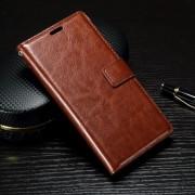 SONY XPERIA X PERFORMANCE læder cover med lommer brun, Mobiltelefon tilbehør