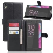 SONY XPERIA XA ULTRA etui - cover m lommer sort Mobiltelefon tilbehør