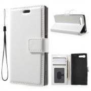 Sony Xperia X Compact etui med lommer hvid Mobiltelefon tilbehør