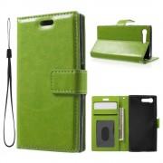 Sony Xperia X Compact etui med lommer grøn Mobiltelefon tilbehør
