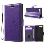 Sony Xperia X Compact lilla etui med lommer Mobiltelefon tilbehør