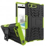 til Sony Xperia X Compact grøn bagcover hybrid Mobiltelefon tilbehør