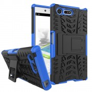til Sony Xperia X Compact bagcover hybrid blå Leveso.dk Mobiltelefon tilbehør