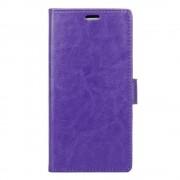 Sony Xperia X Compact pung etui med lommer lilla Mobiltelefon tilbehør