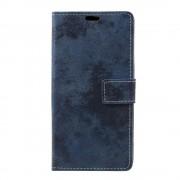 Sony Xperia XZ premium mørkeblå cover retro Mobiltilbehør